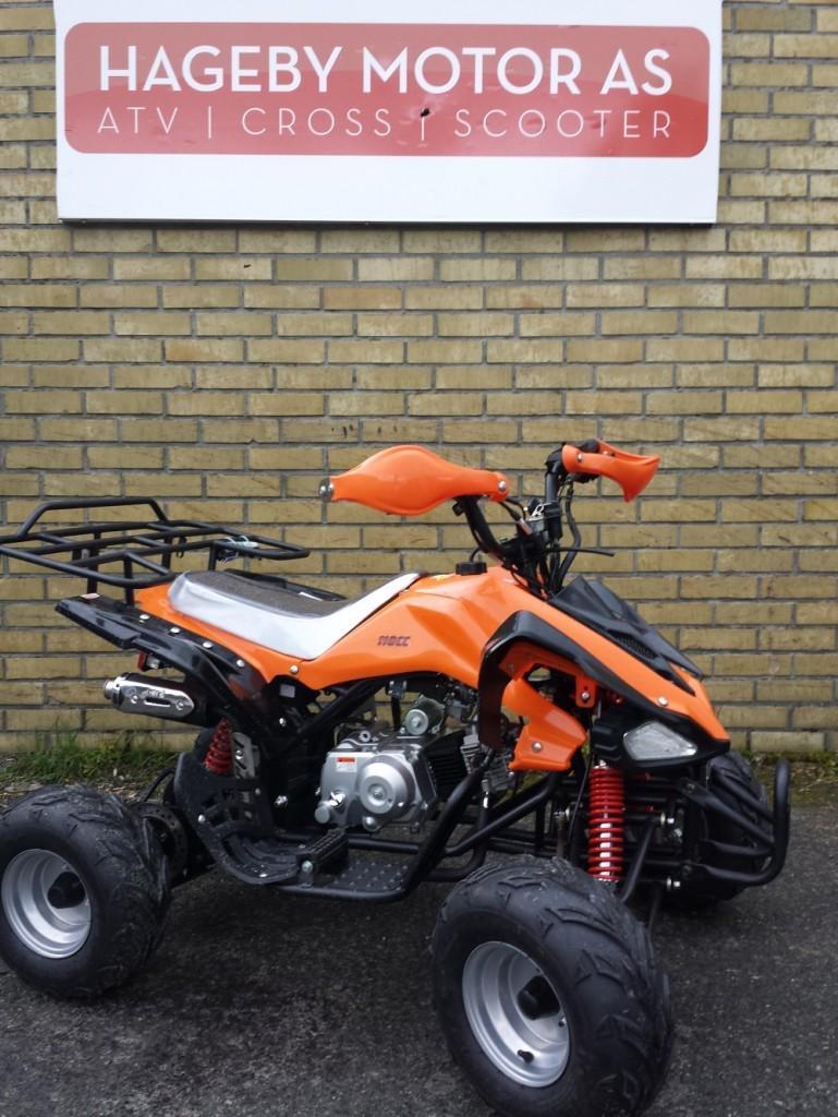 ATV 110cc CRX for barn oransje | Hageby Motor AS ATV Cross Scooter Moped Båt barnesnøscooter