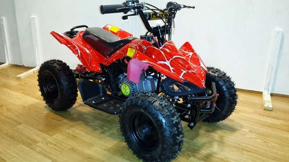 Mini ATV 50cc | Hageby Motor AS ATV Cross Scooter Moped ...